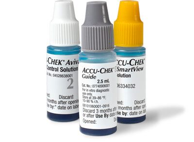 Accu-Chek control solution