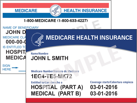 Medicare Part B cards