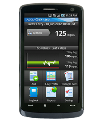 Accu-Chek 360° diabetes management app
