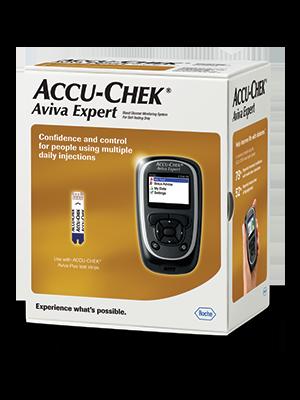 Aviva Expert meter packaging