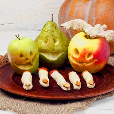 "Healthier Halloween treats: it's okay to be ""that"" house"
