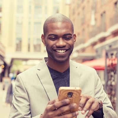 Mobile apps: powerful data, at your fingertips